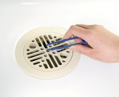 Bathroom Drainage Outlet Brush With Tweezers