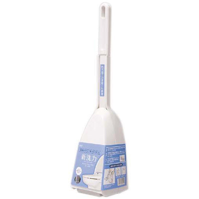 Angled Toilet Brush with Case