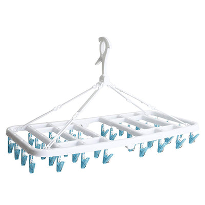 Foldable Rectangle Pinch Clip Hanger 36p