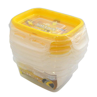 Just Lock Food Container Rectangle S 4p