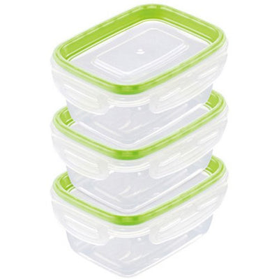 Just Lock Food Container Rectangle M 3p