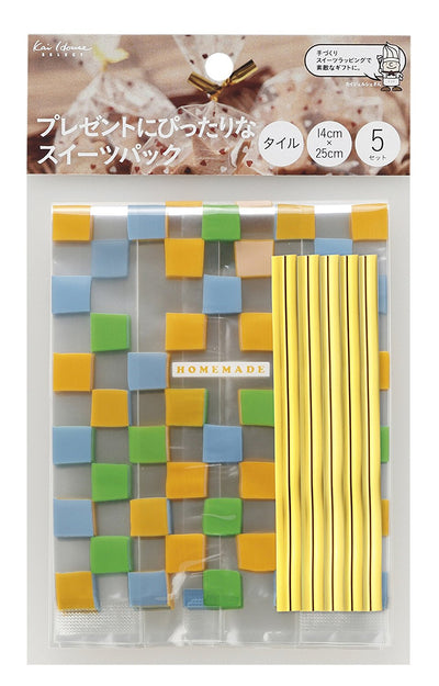 Ideal For Suites Pack (Gusseted Tile 5 Set) Presents Kai House Select Dl-6348