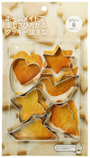 Cookies Punching Die (Tree Stars) 6 Pieces Kai House Select Dl-6190