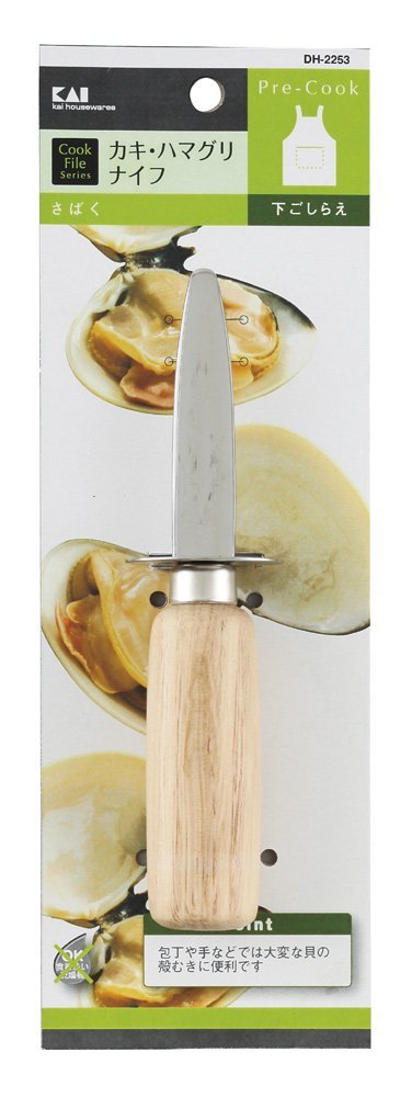 Cookfile Oysters, Clam Knife