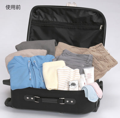Fp Press-Type Clothing Compression Vaccum Storage Pack M 2 Pieces Included (Each Sheet's Suggested Storage Capacity: Trainers 1〜2 Pcs)