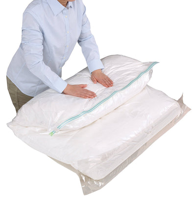 photo of the TOWA INDUSTRY Just Press Compression Bag Futon Compression Pack 1 Pieces M Size 80578