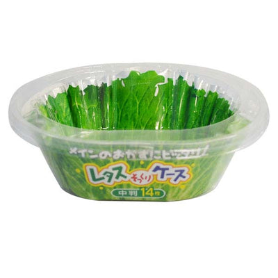 Lettuce Case Bento Food Side-Dish Container Medium-Size