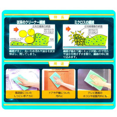 Micro Water Wipe Soft Cleaning Cloth  30×30cm