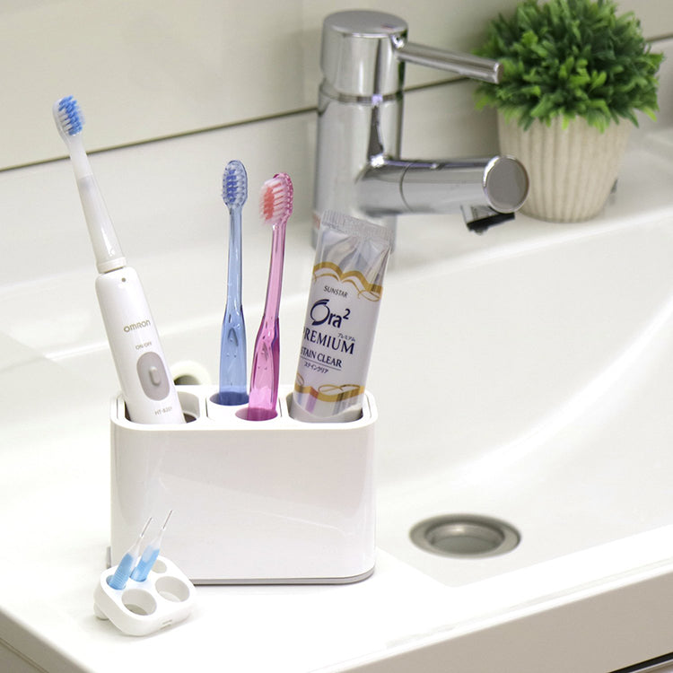 Oral Care Stand (Toothbrush Stand Toothbrush Holder)