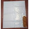 Translucent Plastic Bag White 45l 30p