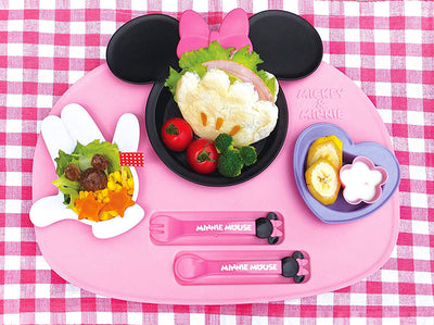 Mealtime Fun, Minnie Mouse Icon Baby Tableware Set