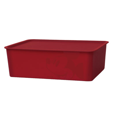 Jin Huacheng Mickey Mouse Square BOX Dark Red with lid