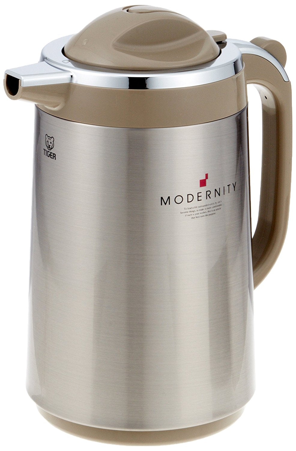 Stainless Steel Thermos Flask Brown - 1.20L