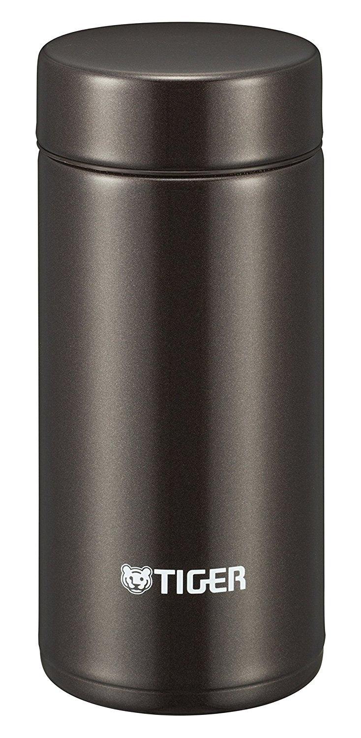 Stainless Steel Water Bottle 200ml Straight-Drink Mini Bottle Sahara Mug Lightweight Dream Gravity Brown