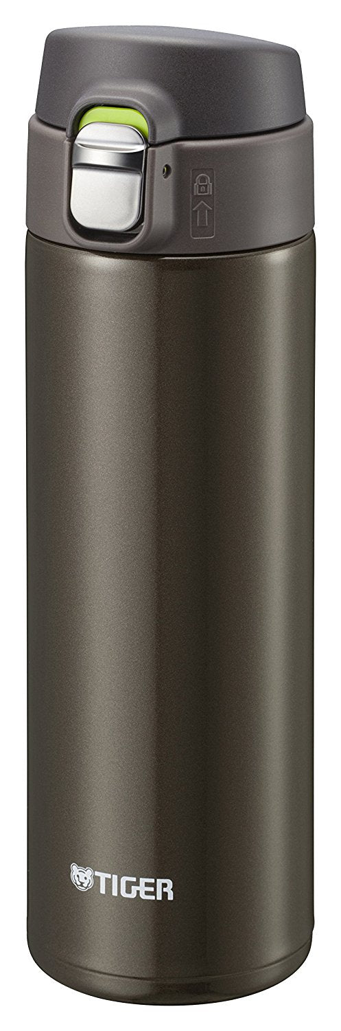 Water Bottle 480ml Straight Drinking Stainless Mini Bottle Sahara Mug Lightweight Dream Gravity Brown