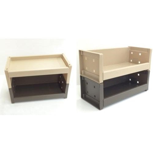Multi-Function Room Rack S Ash Brown That Can Be Used In Combination Prx