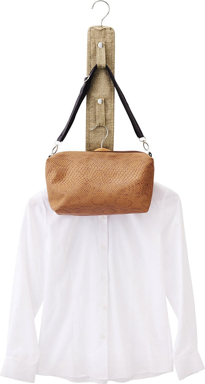 Bag Housing Prx-Button 5 Consecutive Hook Light Brown