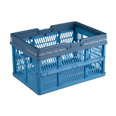 Pegasus PRX L blue with folding basket handle
