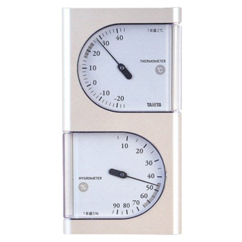 Tanita Tanita Analog Temperature And Humidity Meter Pearl White Tt-518-Pr