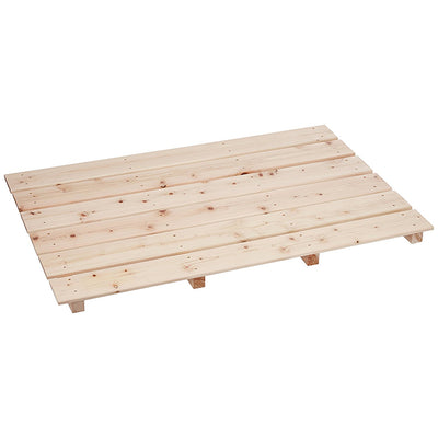 Cypress Bath Grating (Large )6 Planks 4 Beams Barefoot-Type