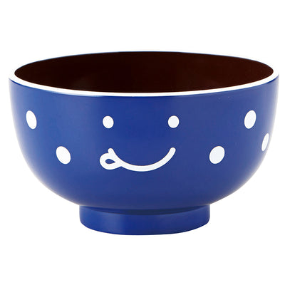 Photo of TAKENAKA Bowl Naughty Kids Soup Bowl Blue Φ10 × 5.7
