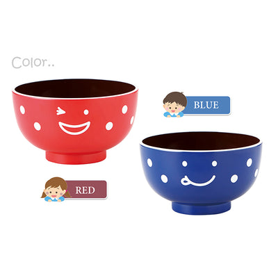 * Bowl Naughty Kids Soup Bowl Φ10 × 5.7 various colors