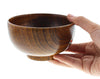 Wooden Soup Bowl Japanese Style