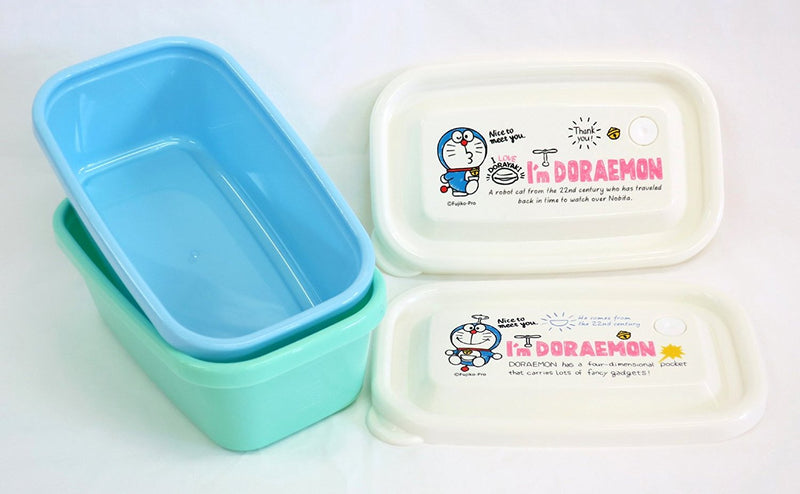 Doraemon I'm Doraemon Range Pack Rectangular 2 PCS various sizes