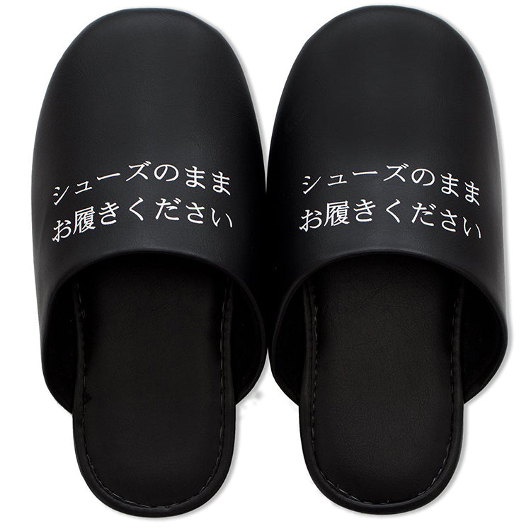 Shoes As Slippers Regular - Size Black