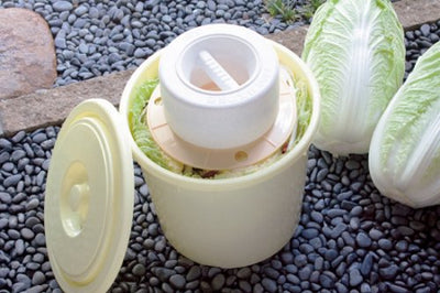 Pickles Press Down Lid 5-Type Use Ivory