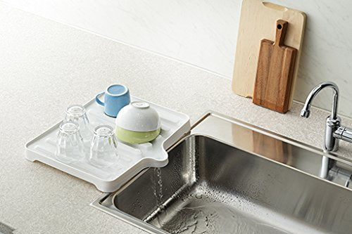 Liberalista Water Drainage Tray White - 38.4 x 34 x 3.5cm