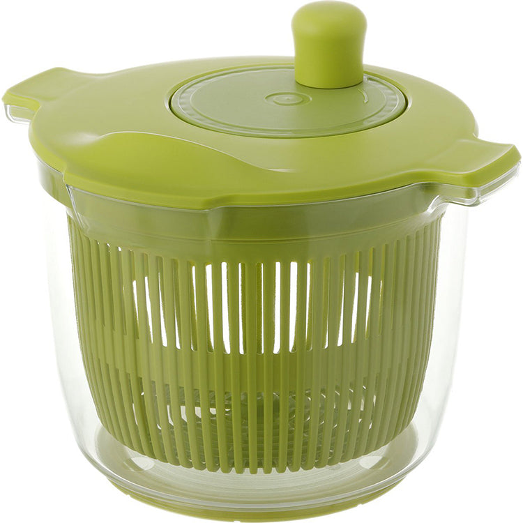 Vegetable Draining Device Riberarisuta Salad Spinner 2.3l Green