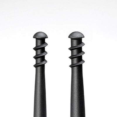 Screw-Type (Spiral)Shaped Rubber Ear Cleaning Pick Scraper