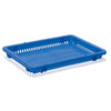 Wide Basket Half Lid Tray B