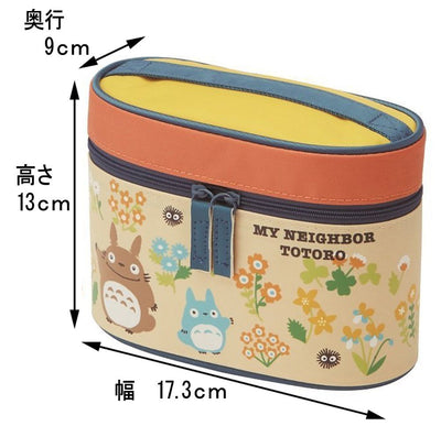 Heat Insulation Lunch Box 560ml My Neighbor Totoro Flower Studio Ghibli Kcljc6