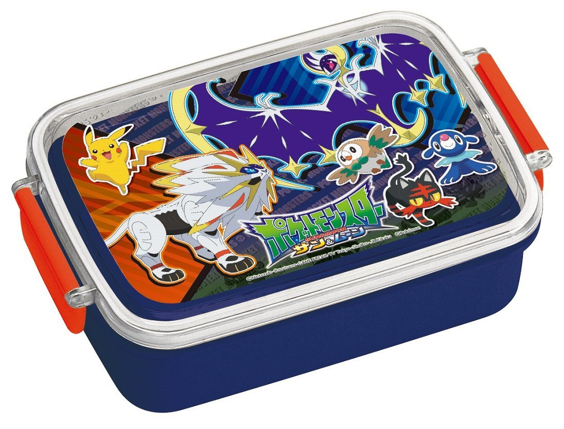 Lunch Box 450ml Lunch Box Sun & Moon Pokemon Rb3a