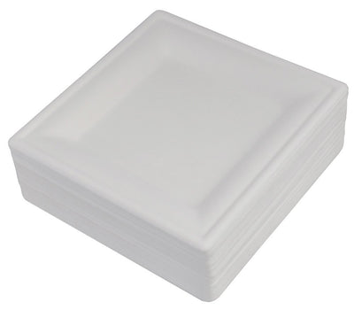 Commercial Paper Plate Mold Square Plate 16 × 16cm 50 Pieces Bp-15