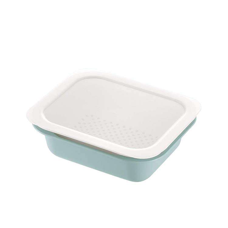 Colander & Bat Rectangle L With Lid