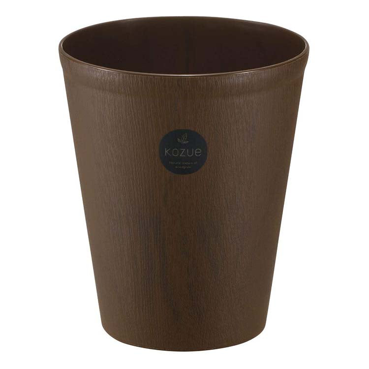 Kozue Trash Bin Small 4.6L - Dark Brown