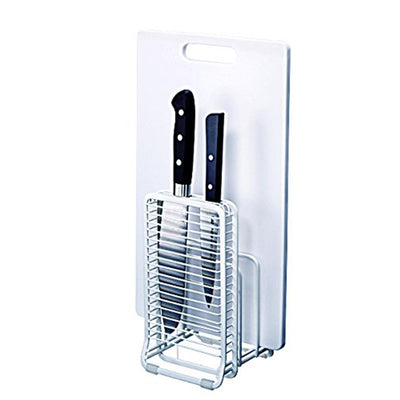W-Coated Cutting Board / Kitchen Knife Stand White 2626