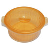 N Easy Fresh Storage Microwave Set Cooking Use Round Type (Inner Basket Included)