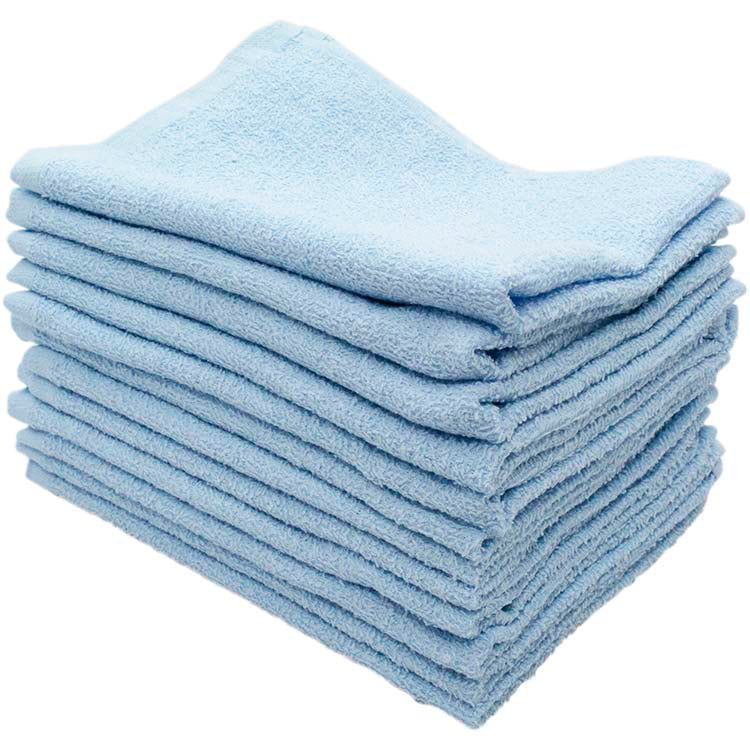 * 100% of 12 pieces of cotton for the towel 30g 38 × 28cm in various color