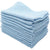 100% of 12 pieces of cotton for the towel color towel business about 30g blue 38 × 28cm