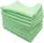 100% of 12 pieces of cotton for the towel color towel business about 30g green 38 × 28cm