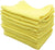 100% of 12 pieces of cotton for the towel color towel business about 30g yellow 38 × 28cm