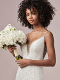Rebecca Ingram Lucille | Lace Fit-and-Flare Wedding Dress
