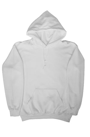 White Emroidered Hoodie - Enhanced Body