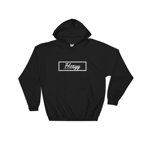 Cursive Box Logo Hoodie - Enhanced Body