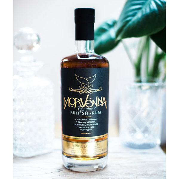 MORVENNA SPICED CORNISH RUM, 70CL, 40% ABV