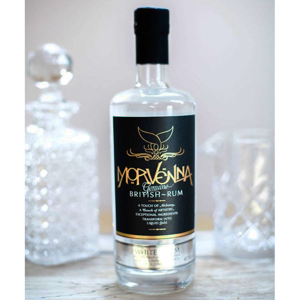 MORVENNA CORNISH WHITE RUM, 70CL, 40% ABV